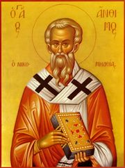 ST ANTHIMUS, the Hieromartyr